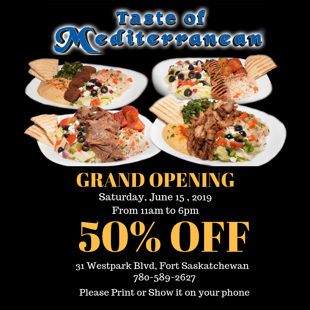 Grand Opening – FORT SASK