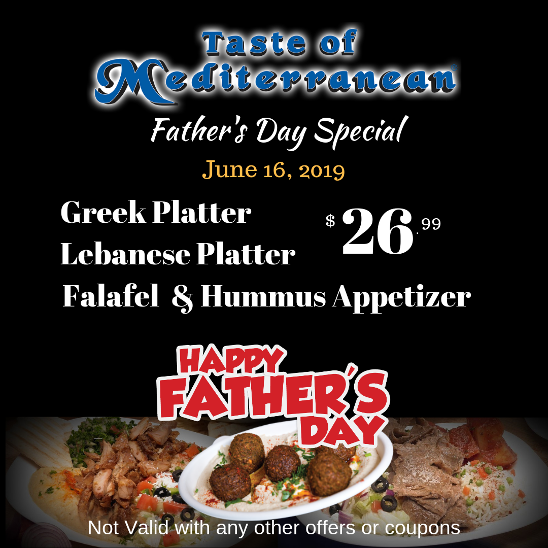 JUNE - Father's Day Special
